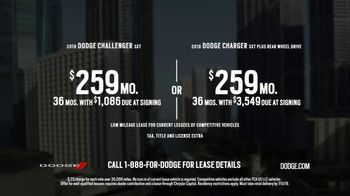 Dodge TV Spot, 'Brotherhood of Muscle: Closed Courses: Fast Cars' [T2] - Thumbnail 7