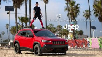 2019 Jeep Cherokee TV Spot, 'American Ninja Warrior' [T1] - Thumbnail 10