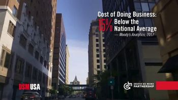 Greater Des Moines Partnership TV Spot, 'Grow Your Business in DSM USA'