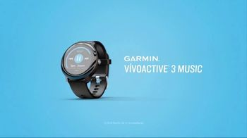 Garmin vívoactive 3 Music TV Spot, 'Laundry' Song by Dawin - Thumbnail 10