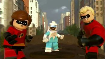 LEGO Pixar The Incredibles TV Spot, 'Disney Channel: Incredible Adventures' - Thumbnail 2