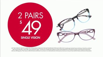 Visionworks TV Spot, 'Two Pairs of Glasses' - Thumbnail 7