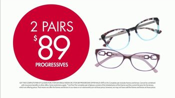 Visionworks TV Spot, 'Two Pairs of Glasses' - Thumbnail 8
