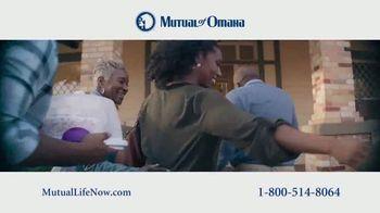 Mutual of Omaha Guaranteed Whole Life Insurance Policy TV Spot, 'Mom'