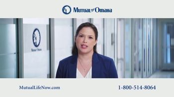 Mutual of Omaha Guaranteed Whole Life Insurance Policy TV Spot, 'Mom' - 30 commercial airings