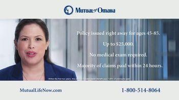 Mutual of Omaha Guaranteed Whole Life Insurance Policy TV Spot, 'Mom' - Thumbnail 7