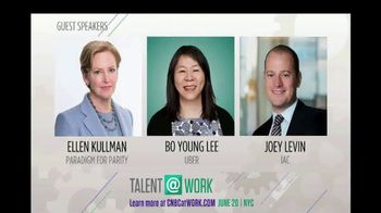 CNBC TV Spot, '@Work Conference Series: Talent@Work' - Thumbnail 6