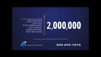 Freedom From Addiction TV Spot, 'You're not Alone'