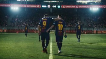 Gatorade TV Spot, 'Everything Changes' Featuring Luis Suárez, Lionel Messi - Thumbnail 1