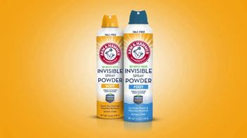 Arm & Hammer Invisible Spray Powder TV Spot, 'Stay Fresh Without the Mess'