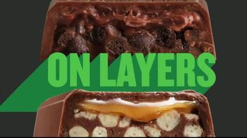 Hershey's Cookie Layer Crunch TV Spot, 'Layers on Layers'