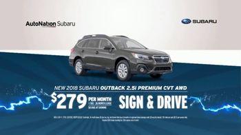 AutoNation 72 Hour Flash Sale TV Spot, '2018 Subaru Outback' - Thumbnail 6