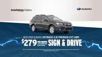 AutoNation 72 Hour Flash Sale TV Spot, '2018 Subaru Outback' - Thumbnail 7