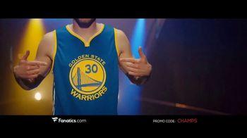 Fanatics.com TV Spot, 'NBA Champions: Warriors' Song by Greta Van Fleet