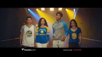 Fanatics.com TV Spot, 'NBA Champions: Warriors' Song by Greta Van Fleet - Thumbnail 1