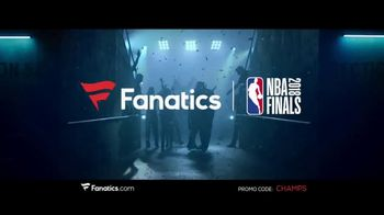 Fanatics.com TV Spot, 'NBA Champions: Warriors' Song by Greta Van Fleet - Thumbnail 10