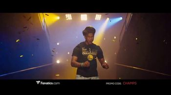 Fanatics.com TV Spot, 'NBA Champions: Warriors' Song by Greta Van Fleet - Thumbnail 3