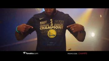 Fanatics.com TV Spot, 'NBA Champions: Warriors' Song by Greta Van Fleet - Thumbnail 4