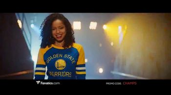 Fanatics.com TV Spot, 'NBA Champions: Warriors' Song by Greta Van Fleet - Thumbnail 5