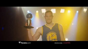 Fanatics.com TV Spot, 'NBA Champions: Warriors' Song by Greta Van Fleet - Thumbnail 6