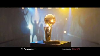 Fanatics.com TV Spot, 'NBA Champions: Warriors' Song by Greta Van Fleet - Thumbnail 7
