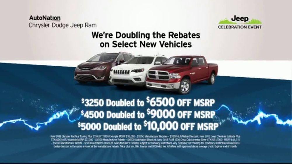 AutoNation 72 Hour Flash Sale TV Commercial, 'Doubling The