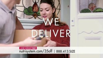 Nutrisystem TV Spot, 'Busy, Stressed and Gaining Weight: Save 35 Percent'