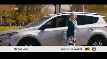 GreatCall Jitterbug Smart TV Spot, 'Having Mom Around: Father's Day' - 368 commercial airings