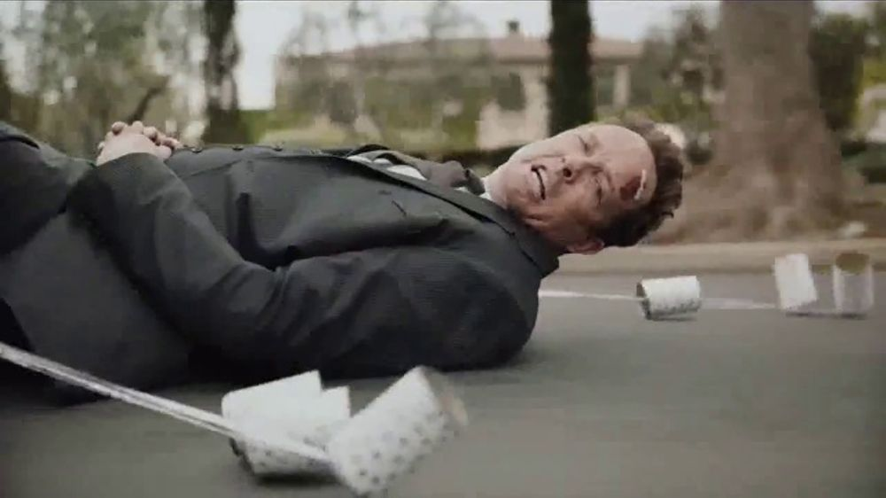 State Farm Accident Forgiveness >> Allstate TV Commercial, 'Mayhem: Tin Can' Featuring Dean Winters - iSpot.tv