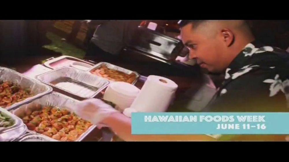 King's Hawaiian TV Commercial, 'Hawaiian Foods Week: Taste of Aloha'