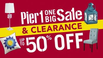 Pier 1 Imports One Big Sale & Clearance TV Spot, 'Front Door to Back Porch' - Thumbnail 9