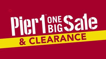 Pier 1 Imports One Big Sale & Clearance TV Spot, 'Front Door to Back Porch' - Thumbnail 3