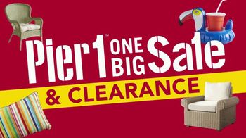 Pier 1 Imports One Big Sale & Clearance TV Spot, 'Front Door to Back Porch' - Thumbnail 4