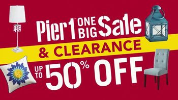 Pier 1 Imports One Big Sale & Clearance TV Spot, 'Front Door to Back Porch' - Thumbnail 8