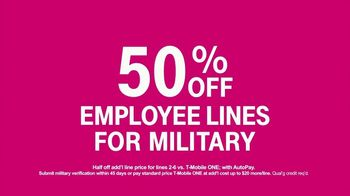 T-Mobile TV Spot, 'Coming Home: Employee Lines' - Thumbnail 6