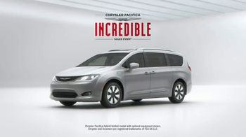 Chrysler Pacifica Incredible Sales Event TV Spot, 'Incredibles 2: Pacifica' [T2] - Thumbnail 5