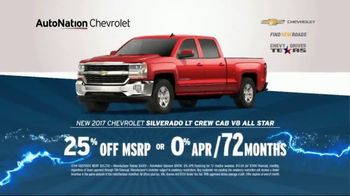 AutoNation 72 Hour Flash Sale TV Spot, '2017 Chevrolet Silverado' - Thumbnail 4