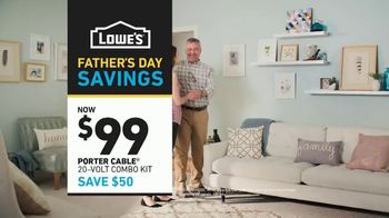 Lowe's Father's Day Savings TV Spot, 'Dad's Tools: Combo Kit' - Thumbnail 10