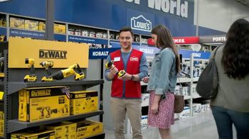 Lowe's Father's Day Savings TV Spot, 'Dad's Tools: Combo Kit' - Thumbnail 6