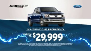 AutoNation 72 Hour Flash Sale TV Spot, '2018 Ford F-150 Supercrew STX' - Thumbnail 4