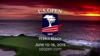 2019 U.S. Open Pebble Beach TV Spot, 'Make History and Memories'