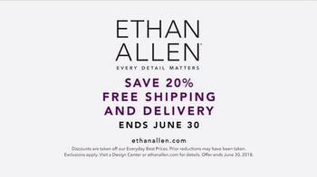 Ethan Allen TV Spot, 'Every Detail: 20 Percent Off' Song by Anna Dellaria - Thumbnail 10