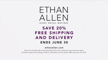 Ethan Allen TV Spot, 'Every Detail: 20 Percent Off' Song by Anna Dellaria - Thumbnail 9