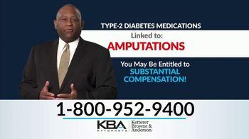 KBA Attorneys TV Spot, 'Type-2 Diabetes: Invokana'