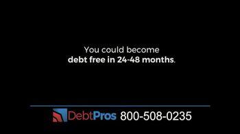 DebtPros TV Spot, 'Debt Reduction Program' - Thumbnail 3