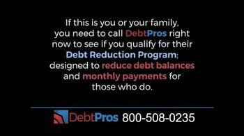 DebtPros TV Spot, 'Debt Reduction Program'