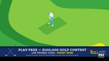 DraftKings Fantasy Golf TV Spot, '$100,000 Contest' - 2 commercial airings