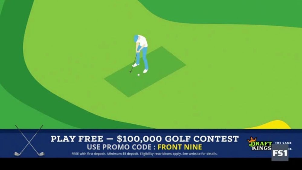 DraftKings Fantasy Golf TV Commercial, '$100,000 Contest'