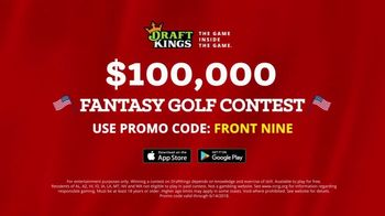 DraftKings Fantasy Golf TV Spot, '$100,000 Contest' - Thumbnail 10