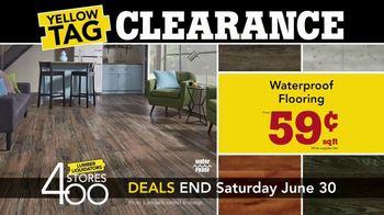 Lumber Liquidators Yellow Tag Clearance TV Spot, 'Bellawood' - Thumbnail 3